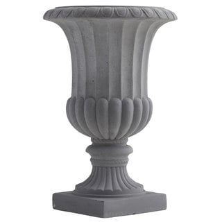 Indoor/ Outdoor 16.5-inch Decorative Urn