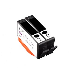 Sophia Global Compatible HP 564XL Black Ink Cartridges (Pack of 2)