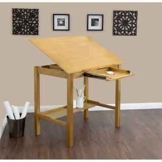 Studio Designs Americana II Light Oak 48-inch Wide Drafting and Hobby Craft Table