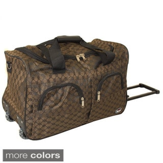 American Hipack Deluxe 22-inch Carry-on Rolling Upright Duffel Bag