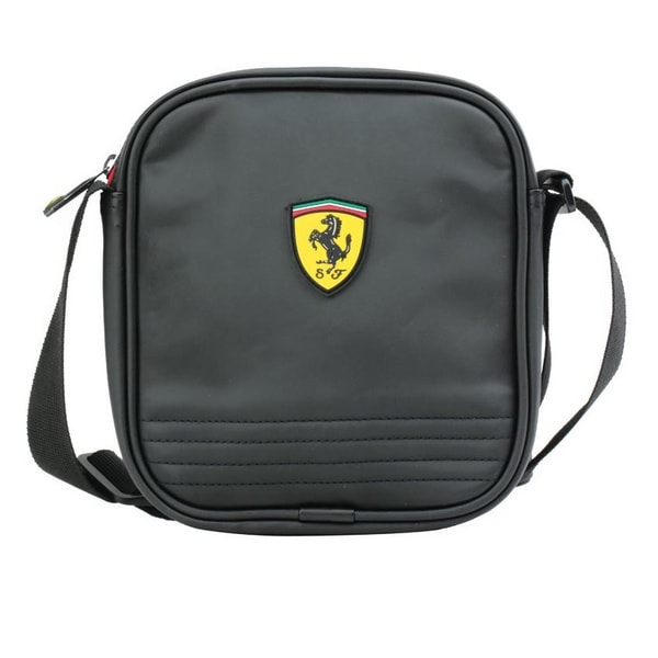 3a9cc3b0a0 Shop Ferrari 8-inch Shoulder Tote Bag - Free Shipping Today ...