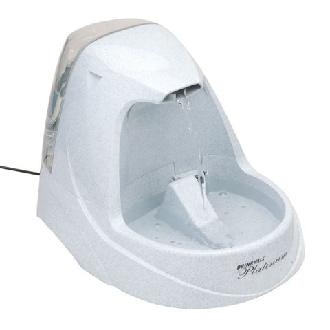 PetSafe Drinkwell Filtered Water Grey Pet Fountain