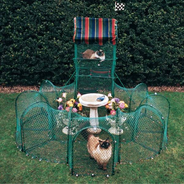 Kittywalk Grand Prix Outdoor Pet Enclosure