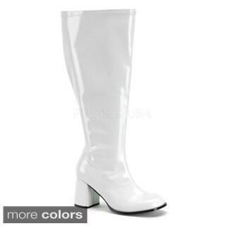 Funtasma Women's 'Gogo-300X' Block Heel Knee-high Gogo Boots