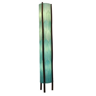 Eangee Sea Blue Hue Giant Floor Lamp