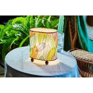 Handmade Eangee Mini Guyabano Lamp (Philippines) (Option: Pink)|https://ak1.ostkcdn.com/images/products/8372058/P15677737.jpg?impolicy=medium