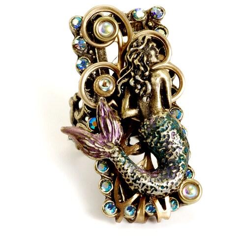 Sweet Romance Mermaid Nautical Ocean Ring