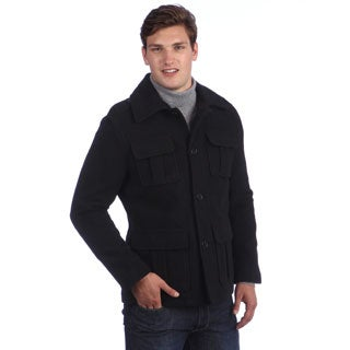 Mens Coats Wool