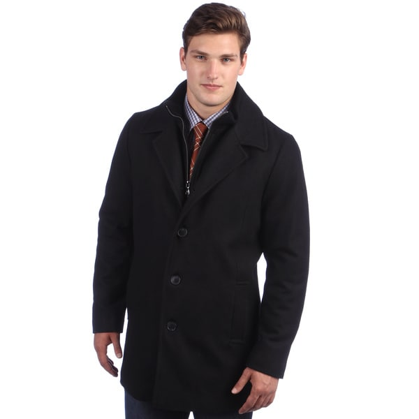 Calvin Klein Men's Wool Walking Coat - Free Shipping Today ...
