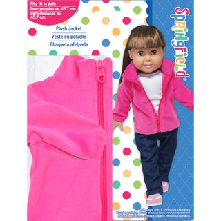Springfield Collection Plush Jacket-Pink