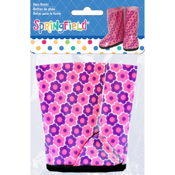 Springfield Collection Rain Boots-Floral