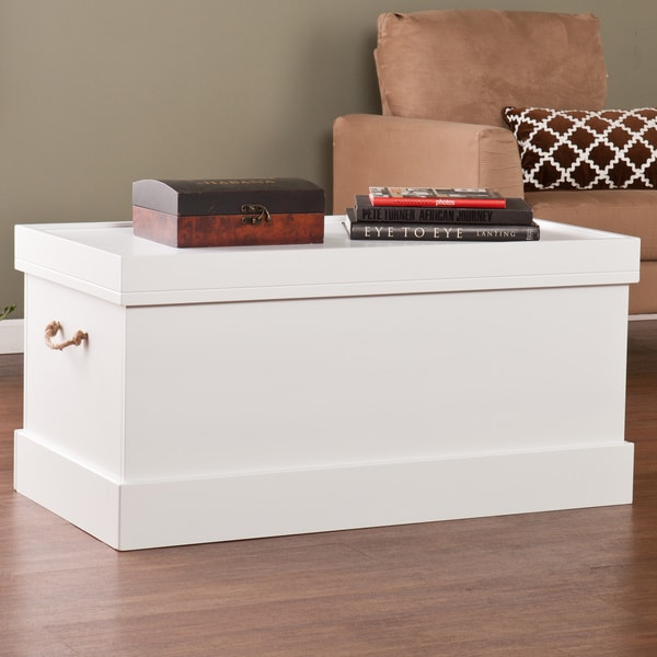 Upton Home Chatsworth Cocktail Coffee Trunk Storage Table Free Shipping Today