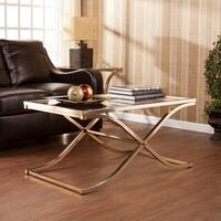 Harper Blvd Ambrosia Champagne Brass Cocktail/ Coffee Table