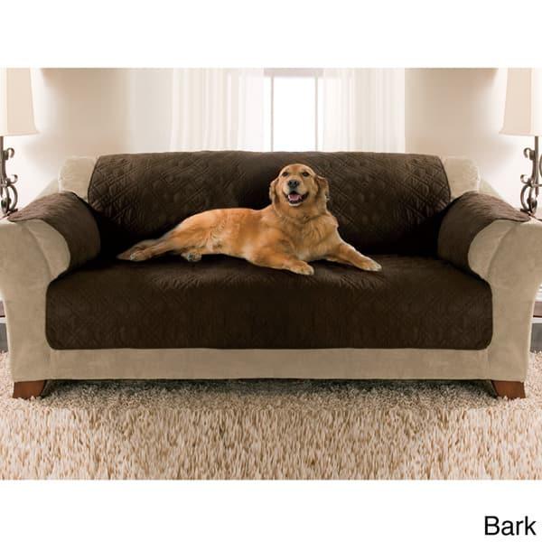 Micro Suede Water Resistant Pet Sofa
