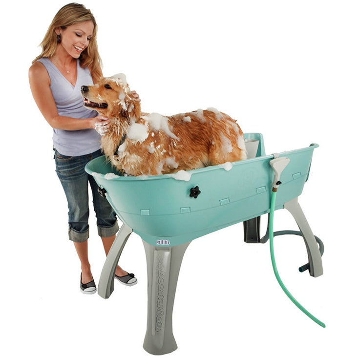 Paws For Thought Booster Bath Elevated Pet Bathing Statio...