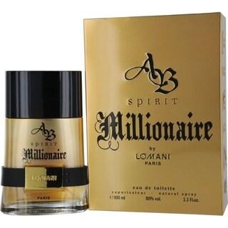Lomani AB Spirit Millionaire Men 3.3-ounce Eau de Toilette Spray