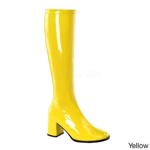 Funtasma GoGo Women's 3-inch Knee High Boots