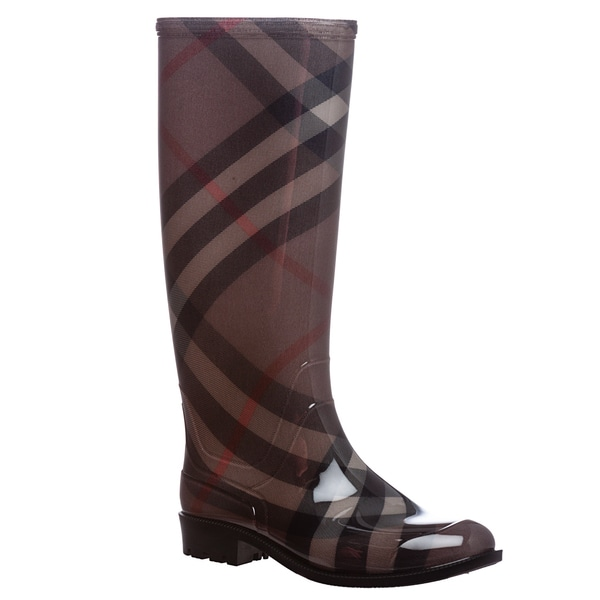Burberry Women's 'Coverdale' Smoked Check Rain Boots