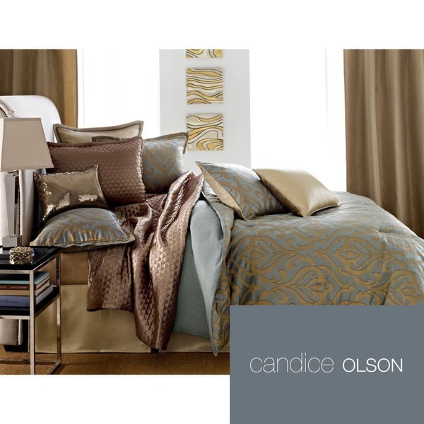 Candice Olson Entice 4-piece Luxury Comforter Set