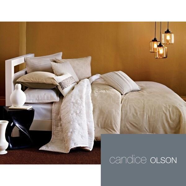 Shop Candice Olson Loft Satori 3 Piece Comforter Set And