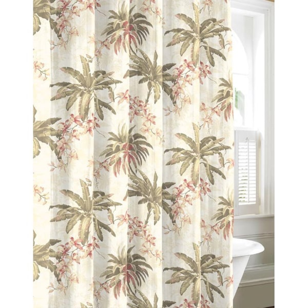 Tommy Bahama Bonny Cove Cotton Shower Curtain Free Shipping On Orders Over 45