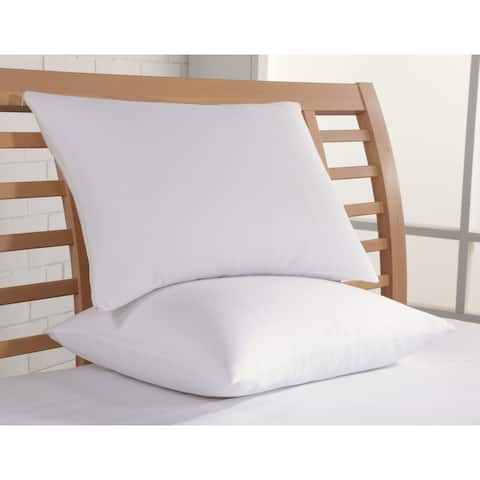 Rest Remedy Cotton Bed Pillow Protector (Set of 2)