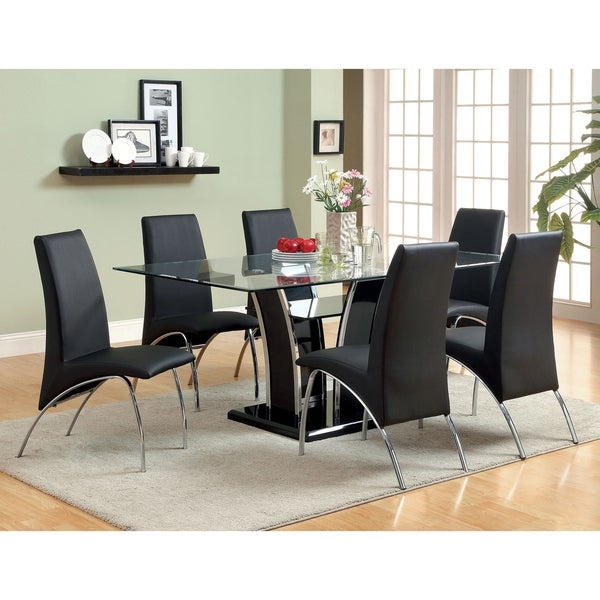 Modern Dining Table Sets On Sale: Shop Ziana Contemporary White Dining Table Set By FOA, 7