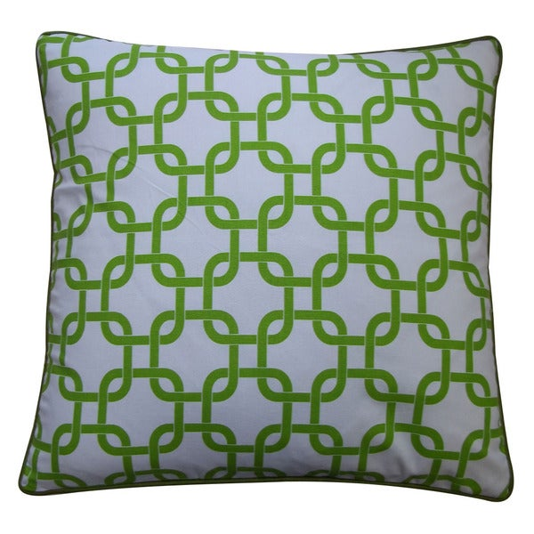 Jiti Green 20 x 20-inch Links Down Pillow - 20 x 20