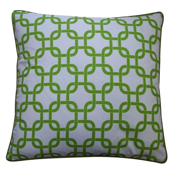 Jiti Green 20 x 20-inch Links Down Pillow