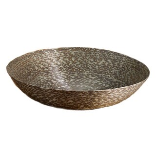 Coiled 19-inch Iron Wire Basket