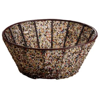 Round 10-inch Iron Basket with Multi-color Beads https://ak1.ostkcdn.com/images/products/8373363/8373363/Round-10-inch-Iron-Basket-with-Multi-color-Beads-P15678852.jpg?impolicy=medium