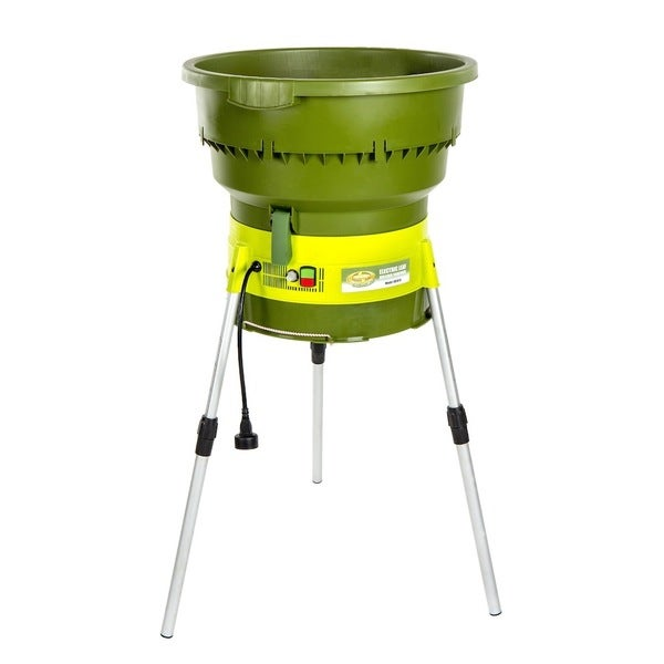 Green Cycler Gcgg02 Kitchen Scrap Pre Composter Garden: Sun Joe Electric Leaf Mulcher