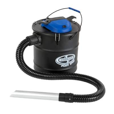 Snow Joe Ash Vac 4.8-gallon Black Ash Vacuum