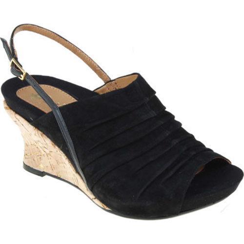 f170febb4efc Shop Women s Earthies Kelderra Black Kid Suede - Free Shipping Today -  Overstock - 8373561
