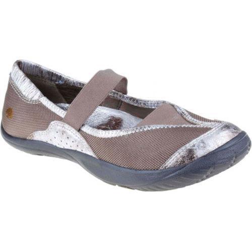 Women's Kalso Earth Shoe Intrigue Too Khaki Metallic Mesh