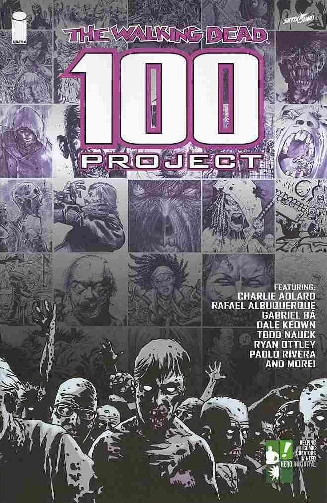 The Walking Dead 100 Project (Paperback)