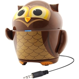 GOgroove Groove Pal GG-PAL-OWL Speaker System - 4 W RMS - Battery Rec