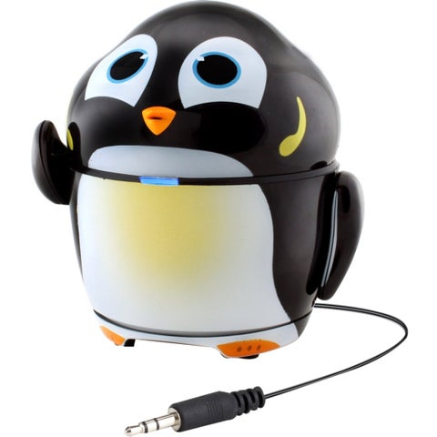 GOgroove Groove Pal GG-PAL-PENGUIN 2.0 Speaker System - 4 W RMS - Por
