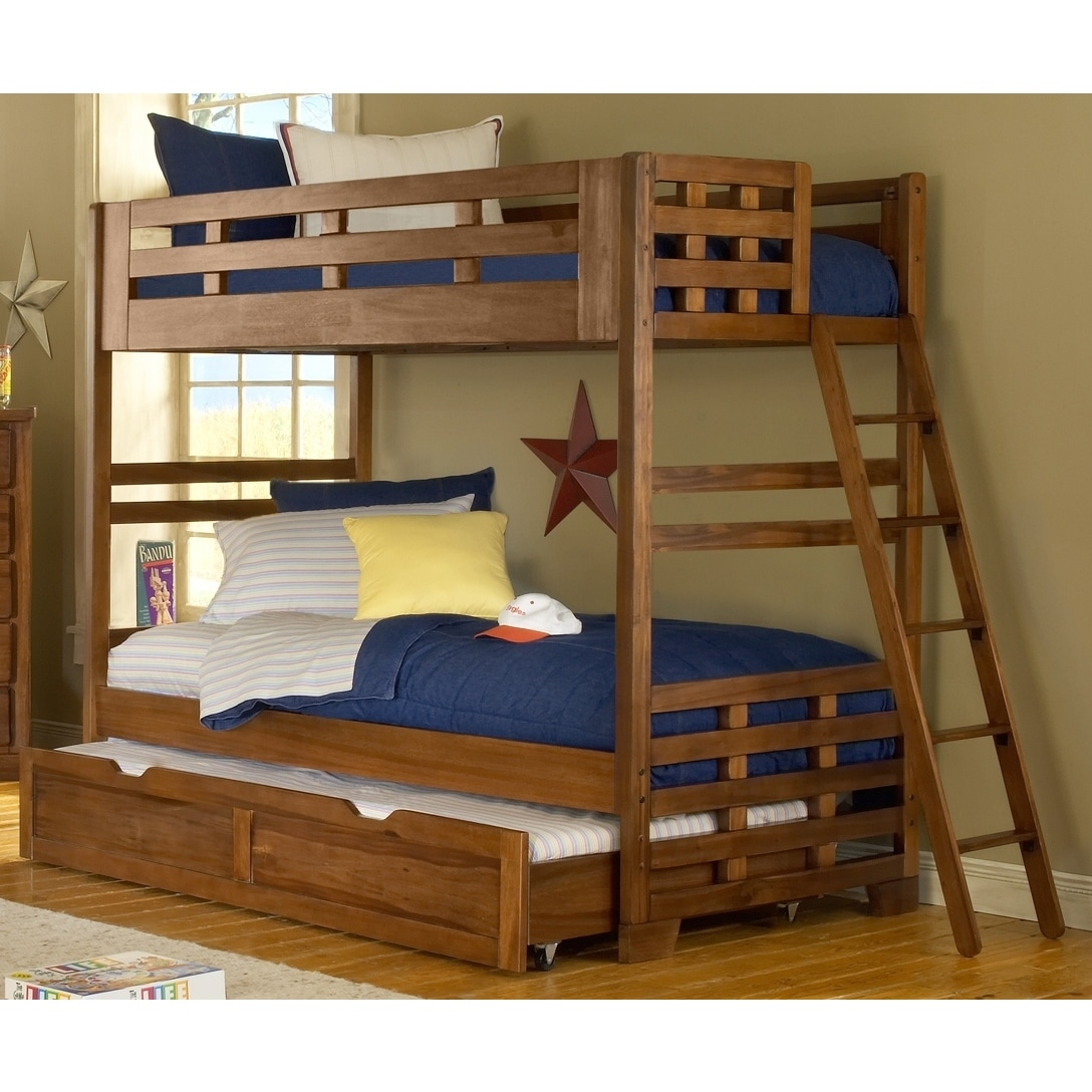Hardy Twin Bunk Bed with Optional Trundle by Greyson Livi...