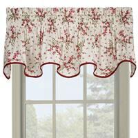 Ellis Curtain Francesca Floral Wave Valance - 70 x 15
