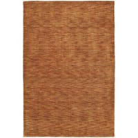 Gabbeh Hand-tufted Paprika Rug - 7'6 x 9'