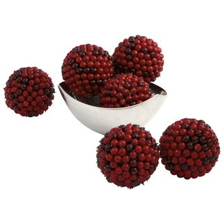 Red Berry Ball (Set of 6)