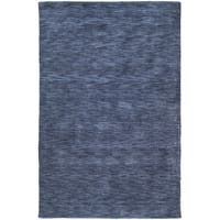 Gabbeh Hand-tufted Blue Rug - 7'6 x 9'
