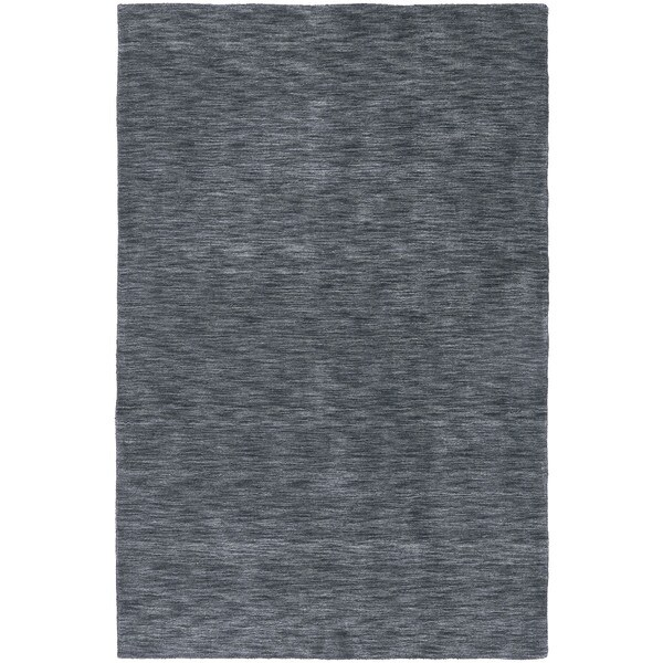Gabbeh Hand-tufted Charcoal Rug - 5' x 7'6
