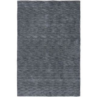 Gabbeh Hand-tufted Charcoal Rug (7'6 x 9')