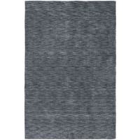 Gabbeh Hand-tufted Charcoal Rug - 7'6 x 9'