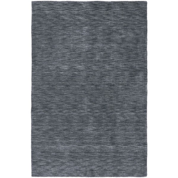 Gabbeh Hand-tufted Charcoal Rug - 8' x 11'