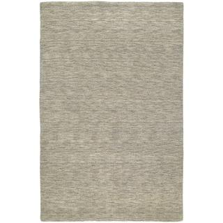 Gabbeh Hand-tufted Light Brown Rug (5' x 7'6)