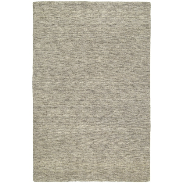 Gabbeh Hand-tufted Light Brown Rug - 5' x 7'6