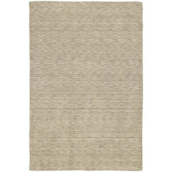 Gabbeh Hand-tufted Gold Rug - 7'6 x 9'